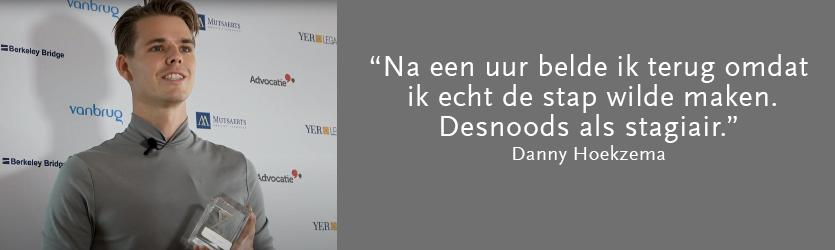 Een terug- én vooruitblik met Danny Hoekzema