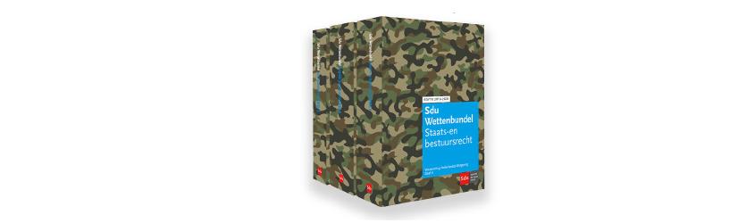 Sdu Wettenbundel verrast met stoere nieuwe cover