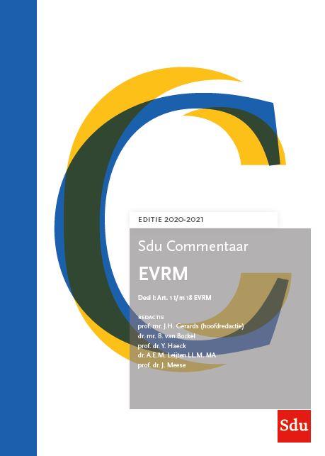 Sdu Commentaar EVRM, editie 2020-2021 (boek)