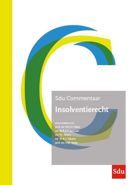 Sdu Commentaar Insolventierecht, Editie 2021 (boek)