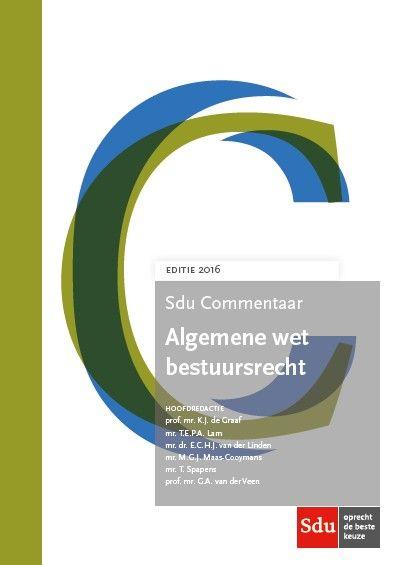 Sdu Commentaar Algemene wet bestuursrecht (online + app + boek)