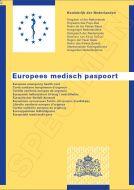 Europees Medisch Paspoort in 11 talen, Koninkrijk der Nederlanden ,EMP (pak à 5)