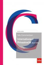 Sdu Commentaar Internationaal Privaatrecht. (Boek 10 BW) Ed. 2020